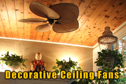 Decorative Ceiling Fan Installation | Smart Choice Electric Inc.